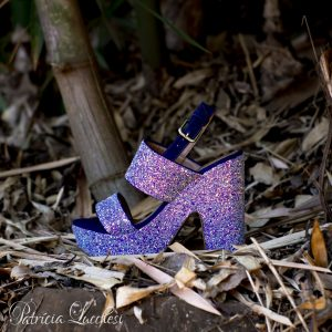 Sandália Plataforma|Roxo