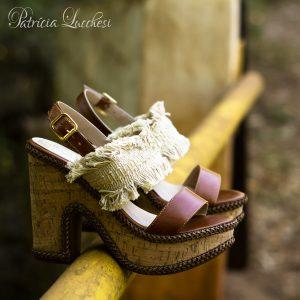 Sandália Plataforma|Caramelo