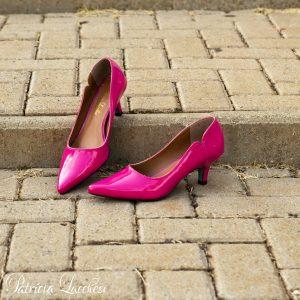 Scarpin Clássico Salto Baixo|Pink